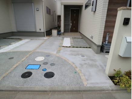 共用部もあり駐車しやすいカースペース。
