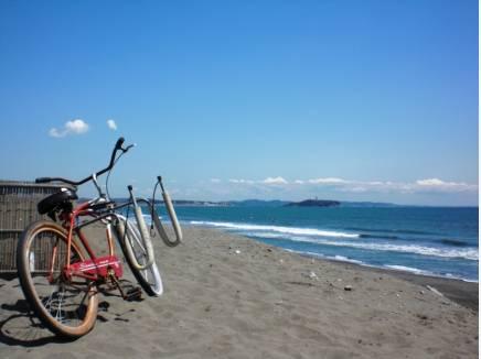 自転車で行くのも良いですよね。