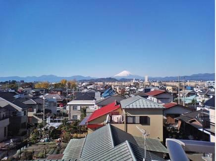 今の季節は富士山がキレイに見えますよ!