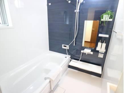 清潔感漂うバスルーム!