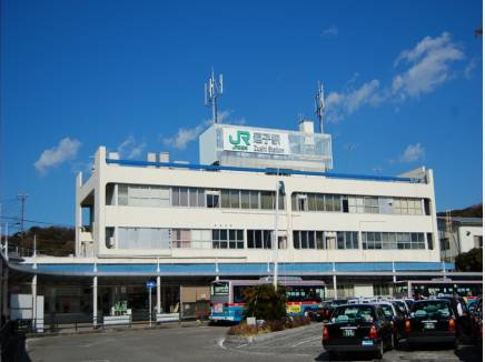 最寄駅は始発がある【逗子駅】バス約25分、停歩3分