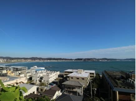 相模湾を見下ろす限られた場所(約130m)