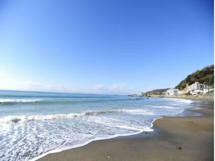 海まで徒歩7分(約550m)