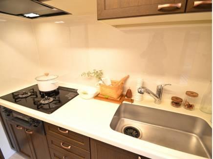 美しくお色直しのキッチン