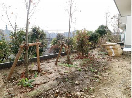 お庭スペース(未完成)