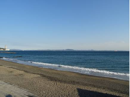 ◆海岸の砂浜まで徒歩20分(約1600M)