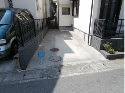 駐車スペースは1台分!!