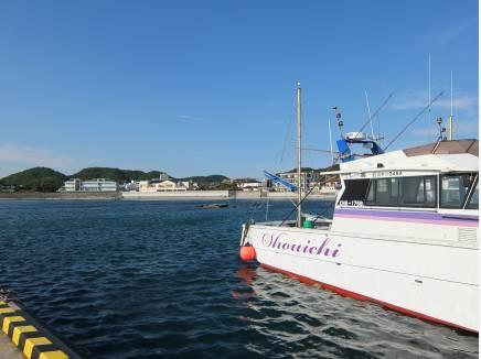 漁港でランチも素敵