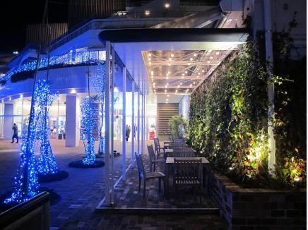 休日は「Terrace Mall湘南」で