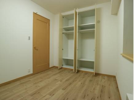 各室充分な収納力がありますね。
