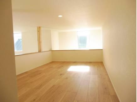 まるでお部屋の広さのようなロフト部分!