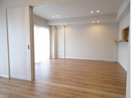 LDKは併設の洋室開放でなんと約20帖です!