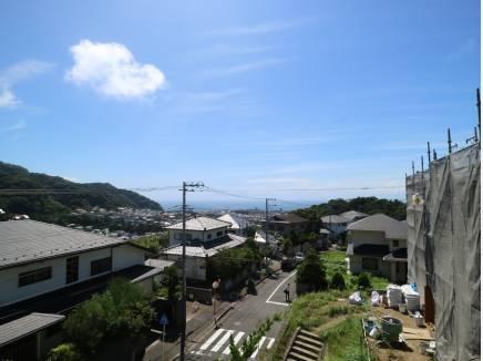 2階スカイビューバルコニーからの眺望です。