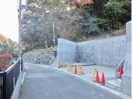 前面道路は4.3m