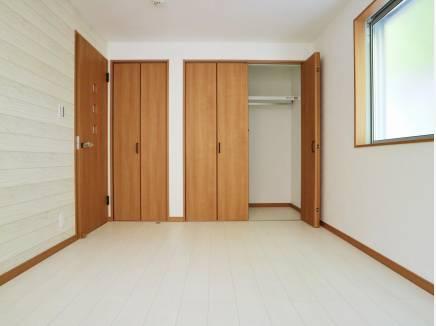主寝室は、7,5帖のゆったりとした広さ