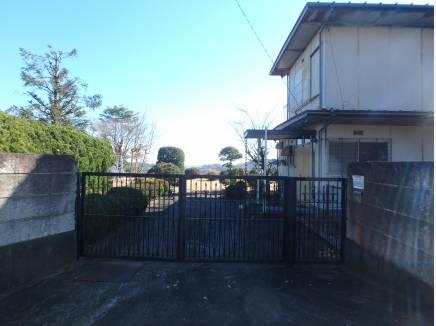 現在の門です。