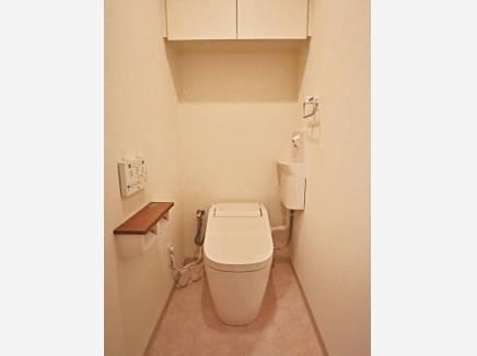 トイレは新規交換済み(アラウーノSⅡ)