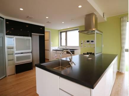 効率よく動けるキッチン