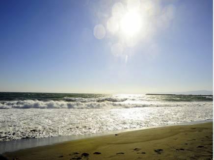 海まで歩いて5分!(約350m)