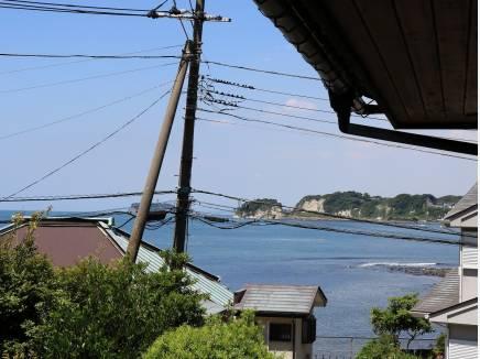 古家解体前の2階からの眺望