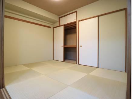 併設の和室もリニューアル。