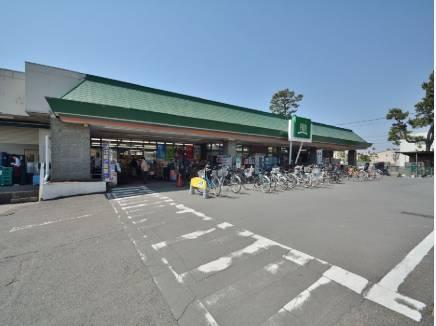 FUJIスーパーまで徒歩5分(約400m)