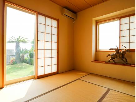 和室からの眺めも良いです