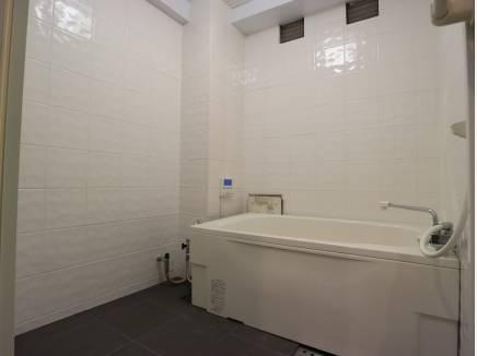 バスルームのリノベ済。
