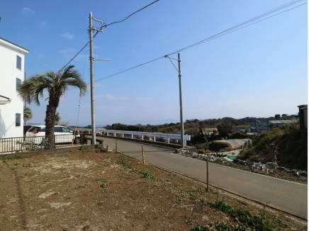 東京湾方面の眺望が見えます。
