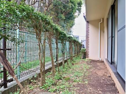 ガーデンスペースもございます