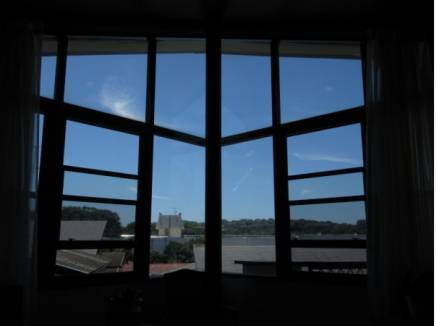 開放的な眺望が広がります。