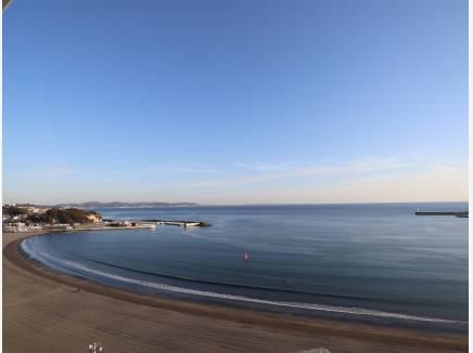 片瀬東浜海岸方面も一望です