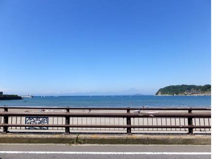 逗子海岸まで約900M