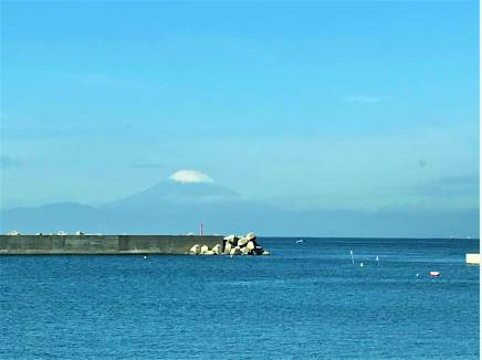 現地からは富士山をばっちりご覧いただけます。