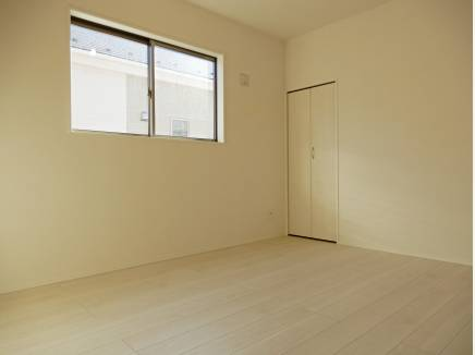 洋室3部屋じは6帖以上のお部屋設計!