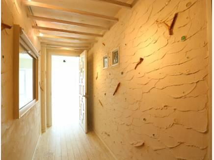 塗り壁のかわいいデザイン