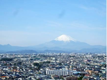 富士山がこんなに大きく望みます!