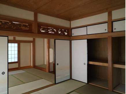 8畳と8畳の和室