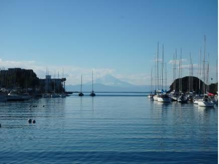 富士山を望める諸磯湾