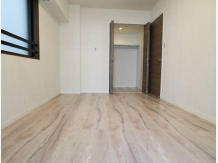 収納完備の居室 WIC付きのお部屋は2つございます