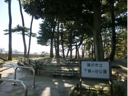 下藤ヶ谷公園 約20M