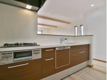 嬉しい食洗機も付きのキッチン