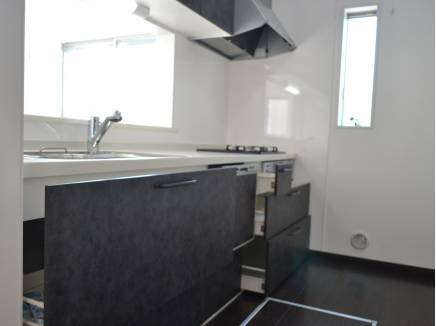 ビルトイン食洗機付システムキッチン!