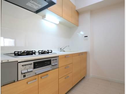 キッチンも新規に交換されていてきれいです