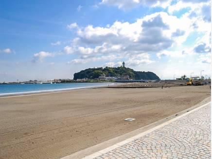 片瀬東浜まで徒歩14分(約1km)
