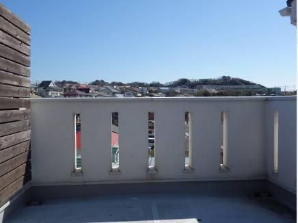 眺めの良い屋上!