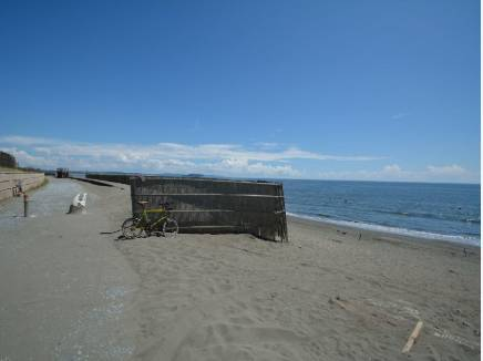 茅ヶ崎海岸まで約800m