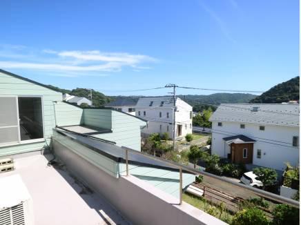 2階バルコニーからの眺望です。