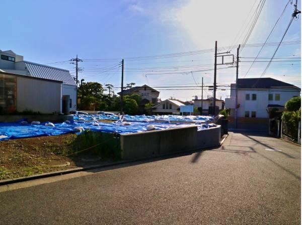 神奈川県茅ヶ崎市菱沼海岸の土地