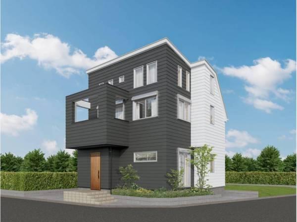 神奈川県茅ヶ崎市平和町の新築戸建